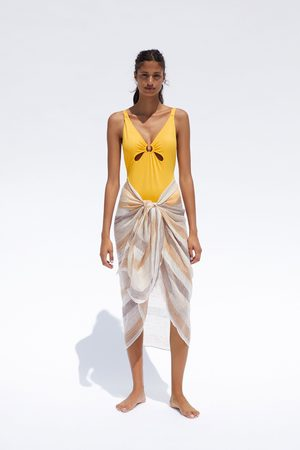 Zara Swimsuit with ring detail