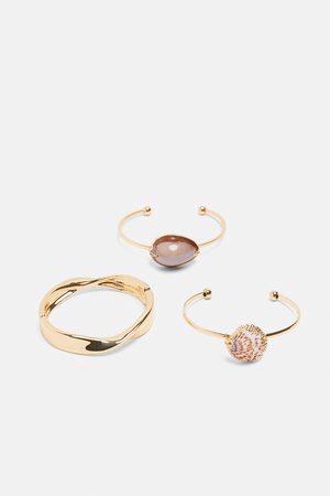 Zara Pack of 3 assorted bracelets