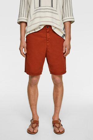 Zara Textured bermuda shorts