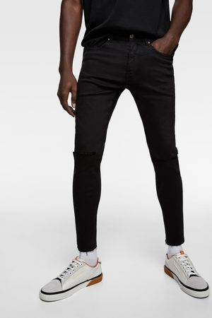 Zara Super skinny ripped jeans