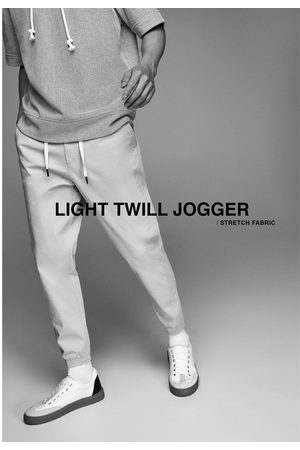 Zara Textured joggers