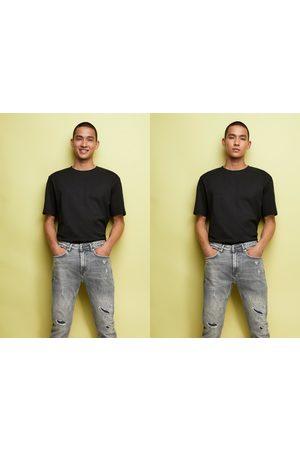 Zara Men Skinny - Skinny jeans with paint splatter