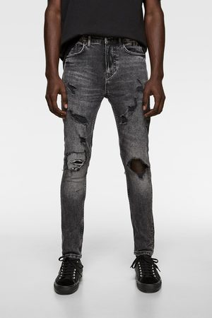 Zara Ripped Men S Skinny Jeans Compare Prices And Buy Online