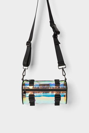 Zara Vinyl tubular crossbody bag