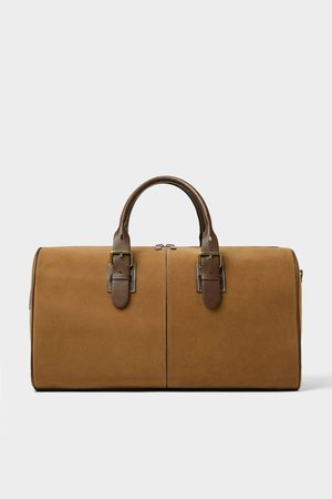 Zara Brown travel bowling bag