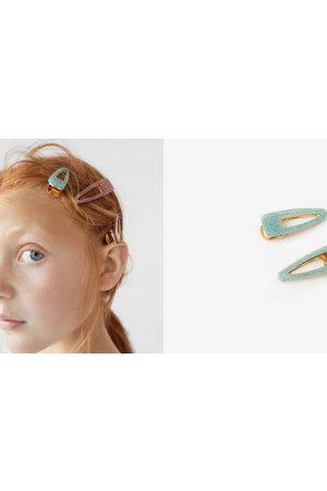 Zara 2-pack of shimmery hair clips