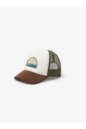 Zara Mesh 'adventure' cap