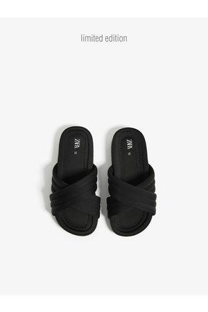 Zara Quilted slides