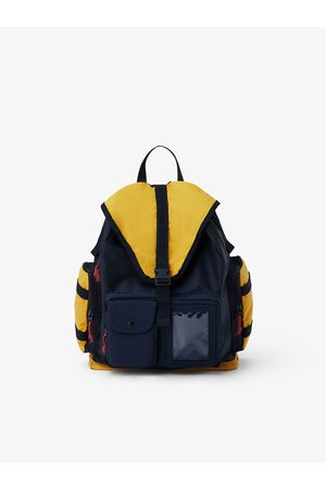 Zara Flap-front backpack with multiple pockets