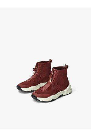Zara High-top sneakers with pull tabs
