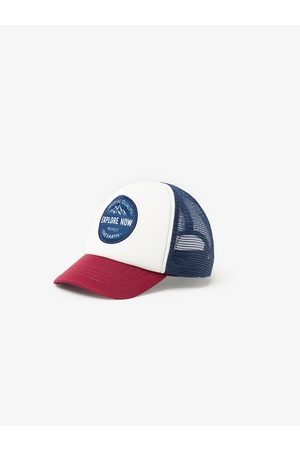 Zara Contrast mesh cap