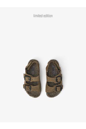 Zara Kids Sandals - Lined leather sandals