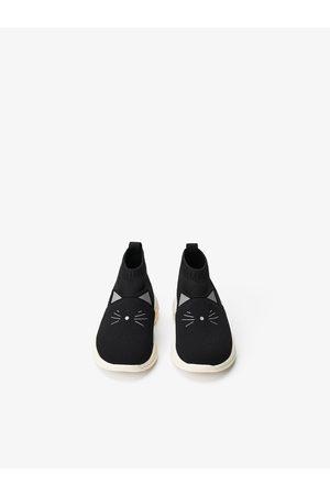 Zara Cat high top sock sneakers