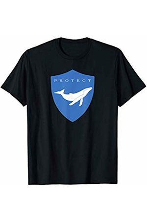 Jimmo Designs Protect Whales Eco Awareness T-Shirt For Nature Lovers