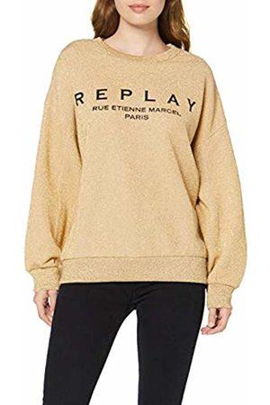 Replay Women's W3114 .000.22672 Sweatshirt, Dark Lurex 20