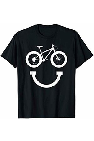 Miftees Fat Bike Smile funny Smiling fat biking T-Shirt