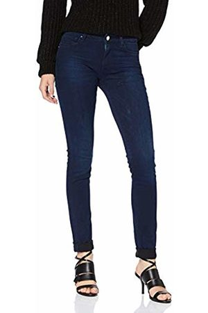 Replay Women Skinny - Women's Luz High Waist Skinny Jeans, Dark 9