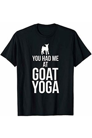 Goat Yoga Apparel You Had Me At Goat Yoga Funny Goat Yoga T-Shirt