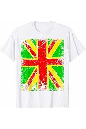 Buy Cool Shirts Rasta Union Jack Reggae Tshirt