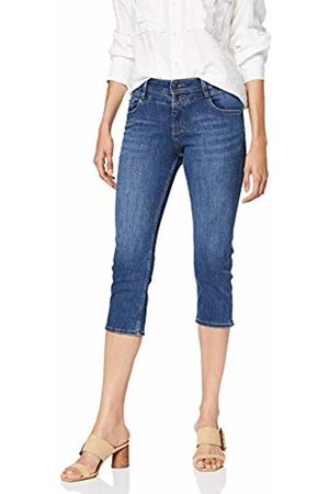 s.Oliver Women's 14.907.72.3093 Trouser, Dark Denim Stretch 58z4