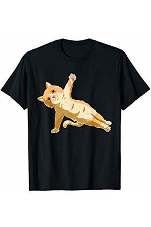NipoCutie Yoga Funny Cat Yoga T-Shirt