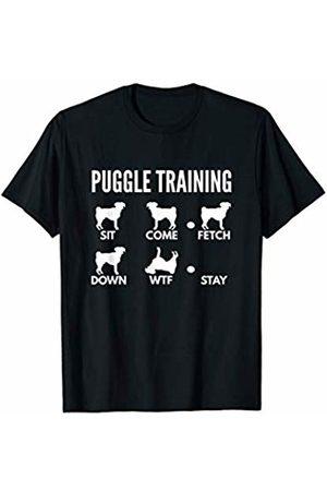 PedigreePrints Puggle Training - Puggle Tricks T-Shirt