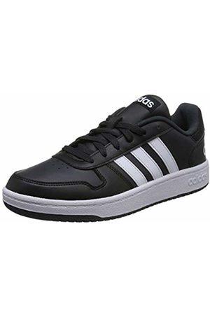 adidas Men's Hoops 2.0 Low-Top Sneakers, (Core /Footwear /Carbon 0)