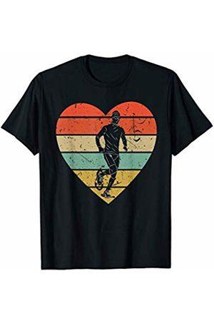 Family Men Women Kids Snowshoeing Team Gifts Idea Snowshoeing Vintage Design Retro Snowshoer Heart Sport Fan T-Shirt