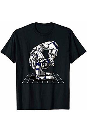 Astronaut Yoga Galaxy Travel Shirts Space Astronaut Yoga Workout Zen Cosmic Women Men T-Shirt