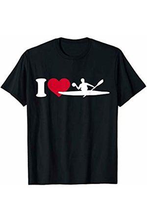 Canoe polo gifts I love canoe polo T-Shirt