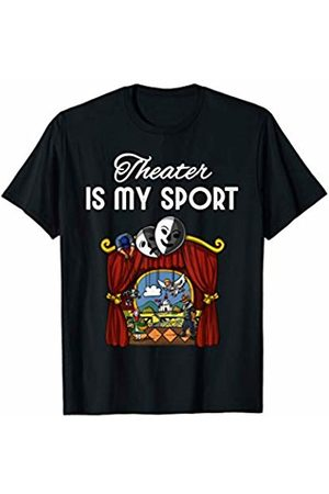 Theater Event Staff Crew Shirts Theater Is My Sport Funny Men Women Kids Actor T-Shirt