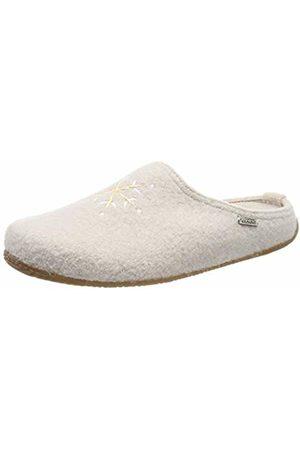 Living Kitzbühel Women's Pantoffel Schneestern mit Fußbett Open Back Slippers