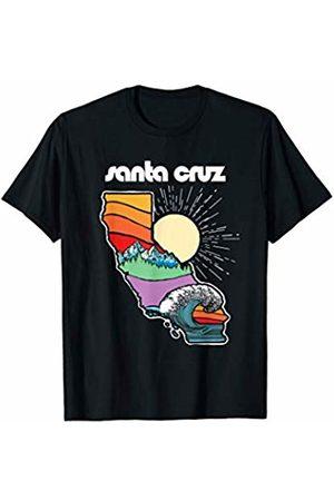 Out West Supply Co. California Threads Santa Cruz California Outdoors Retro Nature Graphic T-Shirt