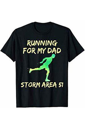 Storm Area 51 Survivor Shirt Gift Men T-shirts - Storm Area 51 Running for Dad T-Shirt