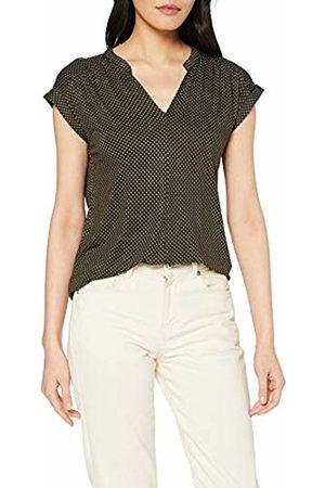Opus Women's Sandi Miniflower T-Shirt, Oliv 3033