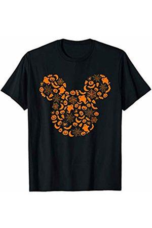 Disney Mickey Mouse Halloween Silhouette T-Shirt