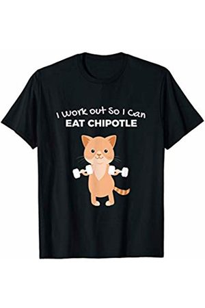 Workout Gift Idea Novelty Funny Chipotle Lover Gym T-Shirt