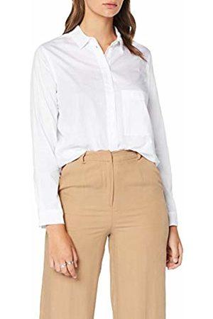 Seidensticker Women's Hemdbluse Langarm Modern Fit Uni-100% Baumwolle-Brusttasche Blouse, Optical 1