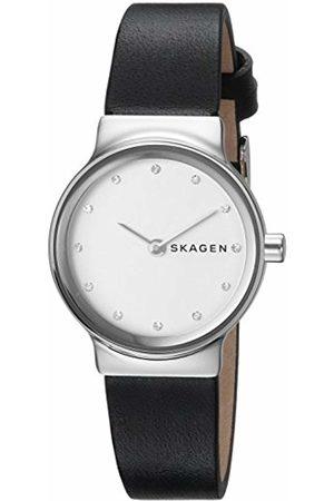 Skagen Womens Analogue Quartz Watch with Leather Strap SKW2668