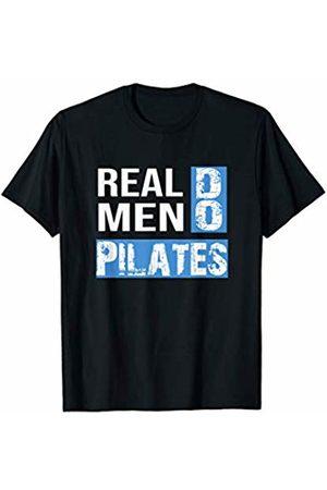 Pilates Yoga Training Shirt For Men Funny Real Men Do Pilates Fitness T-Shirt
