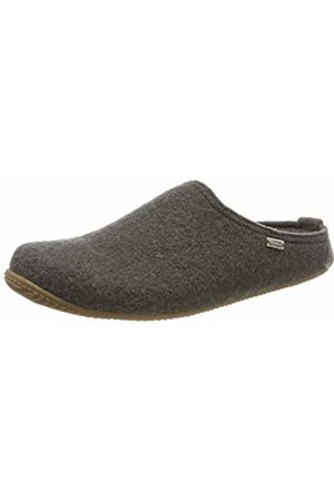 Living Kitzbühel Unisex Adults' Pantoffel Unifarben mit Fußbett Open Back Slippers