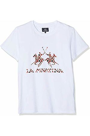 La Martina Men's Man T-Shirt S/s Cotton Jersey (Optic 00001)