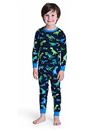 Hatley Boy's Girl's Organic Cotton Long Sleeve Printed Pyjama Sets