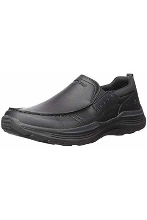 Skechers Men's EXPENDED-SEVENO Moccasins, ( Leather Blk)