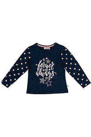 Salt & Pepper Salt and Pepper Girls' Daydream Forever Glitzerprint Longsleeve T - Shirt, Navy Melange 460