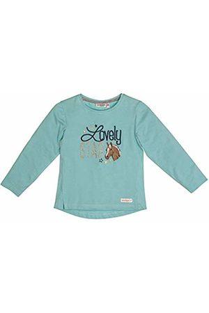 Salt & Pepper Salt and Pepper Girls' Horses Lovely Star Applikation Longsleeve T - Shirt, Lotus Melange 643