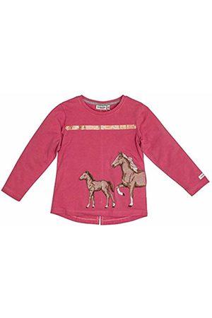 Salt & Pepper Salt and Pepper Girls' Horses Fohlen Applikation Pailletten Longsleeve T-Shirt