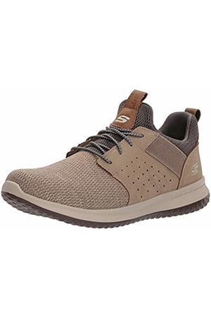 Skechers Classic Fit-Delson-Camden, Men's Sneakers, Taupe