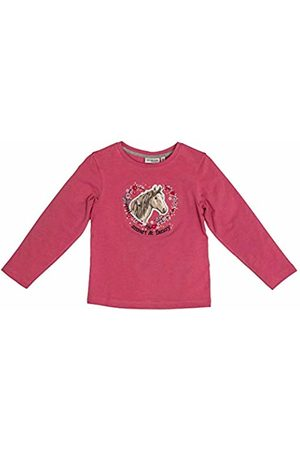 Salt & Pepper Salt and Pepper Girls' Horses Smart Pferdekopf mit Herz Pailletten Longsleeve T - Shirt