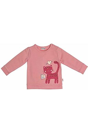 Salt & Pepper Salt and Pepper Baby Girls' Lovely Katze Pailletten Sweatshirt, (Dusty 824)